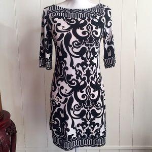 Candie's Black & White Print Dress